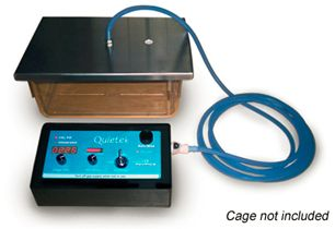 humane CO2 induction rodent cage
