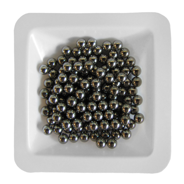 Stainless Steel Beads 3.2 mm, 1 lb. (.45 kg)