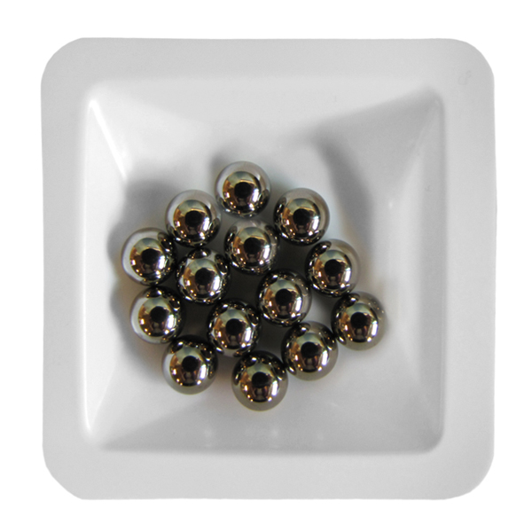 Stainless Steel Beads 6.0 mm, 1 lb. (.45 kg)