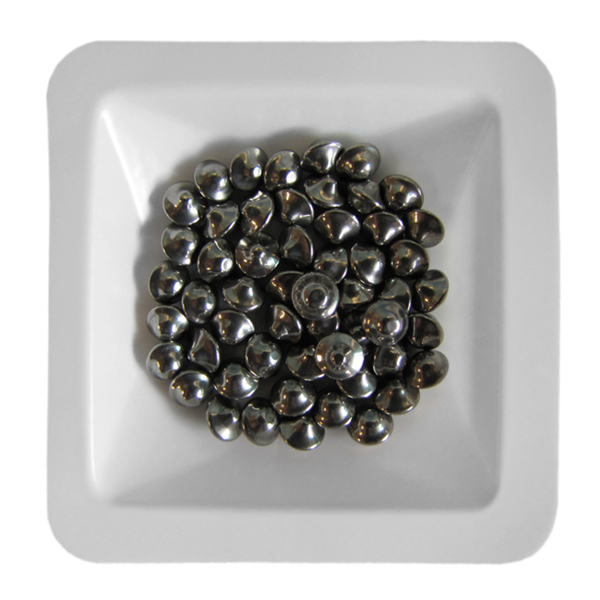 Stainless Steel UFO Beads 3.5 mm, 50 mL