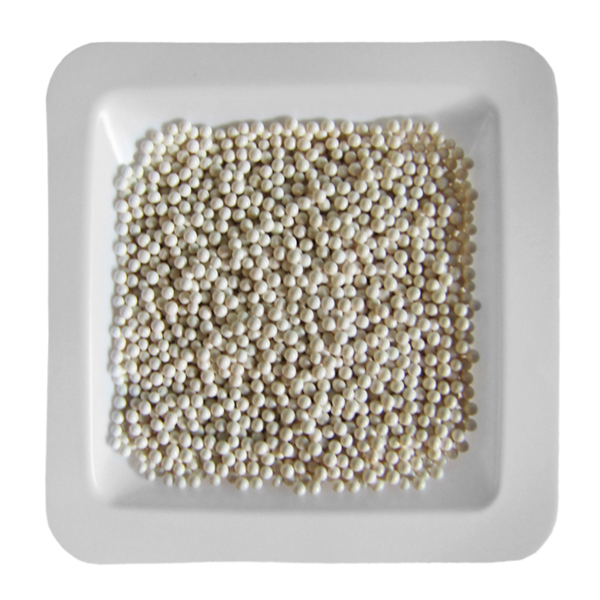 Zirconium Oxide Beads 1.0 mm, 1 lb. (.45 kg)
