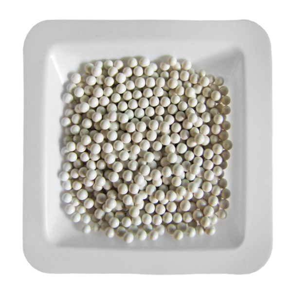 Zirconium Oxide Beads 2.5 mm. 1 lb. (.45kg)
