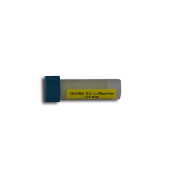 Glass Beads 0.5 mm RNAse Free, 4mL