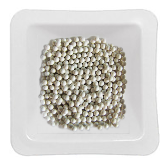 Zirconium Oxide Beads 1.5 mm. 1 lb. (.45kg)